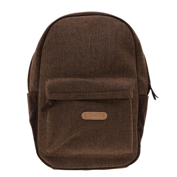 "Hot chocolate colour backpack fits up to 15"" Laptops"