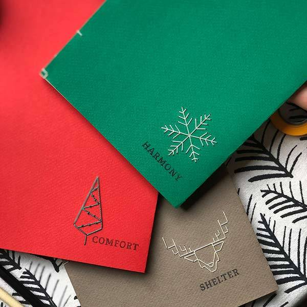 Hygge New Year Handmade Notebook | Shelter