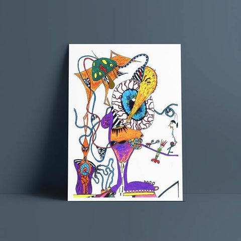 Though This Be Madness Print