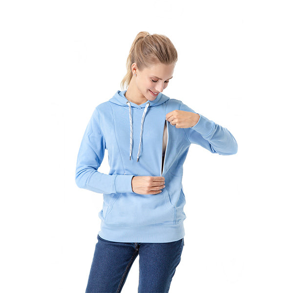 Iconic Nursing Sweatshirt | Pacific Blue