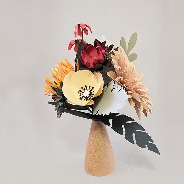 Island Paper Flower Bouquet