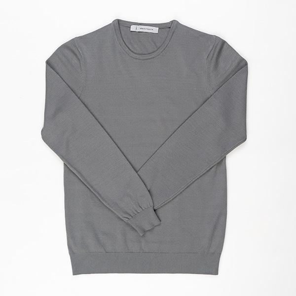 Basic Unisex Knitwear | Grey Clothing Reflect Studio