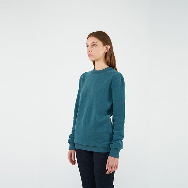 Reflect Studio Turquoise Colour Classic Fit Basic Unisex Sweatshirt  at hippist.co.uk