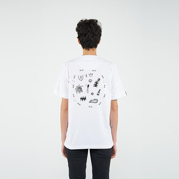 Reflect Studio Oversize Fit Basic Unisex T-Shirt  Ziryab called Story Collection at hippist.co.uk