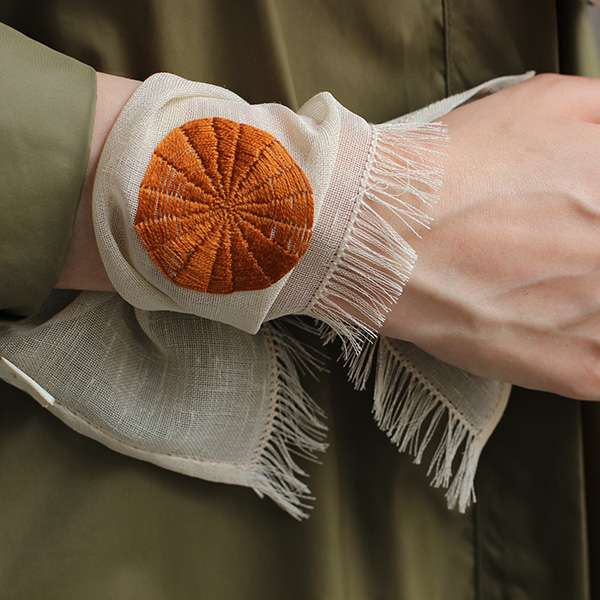 Circle Kasnak Embroidered Bracelet
