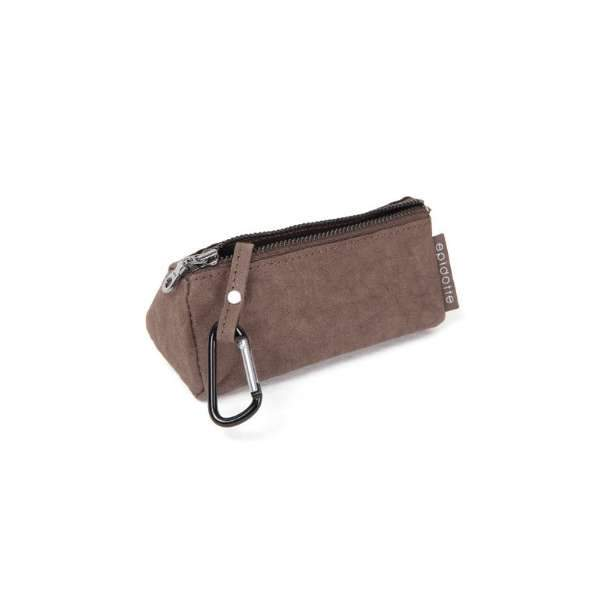 Epidotte Brown Colour Key Purse from Eco-friendly paper at hippist.co.uk