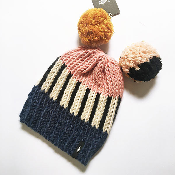 Knitted Wool Hat | Cupcake