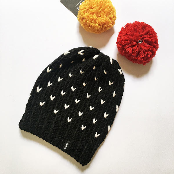 Knitted Wool Hat | Love