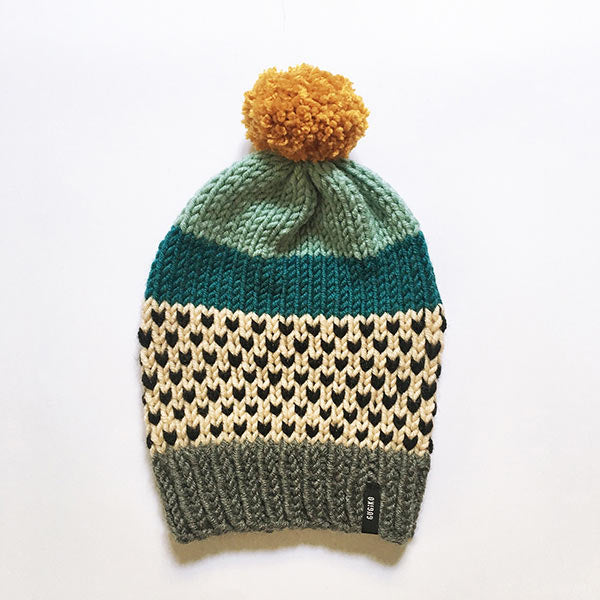 Knitted Wool Hat | Sundream | Mint