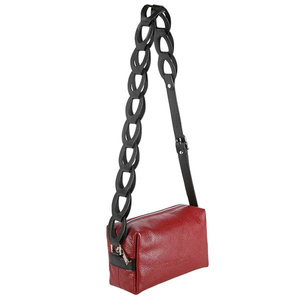 Lanza Shoulder Bag | Red