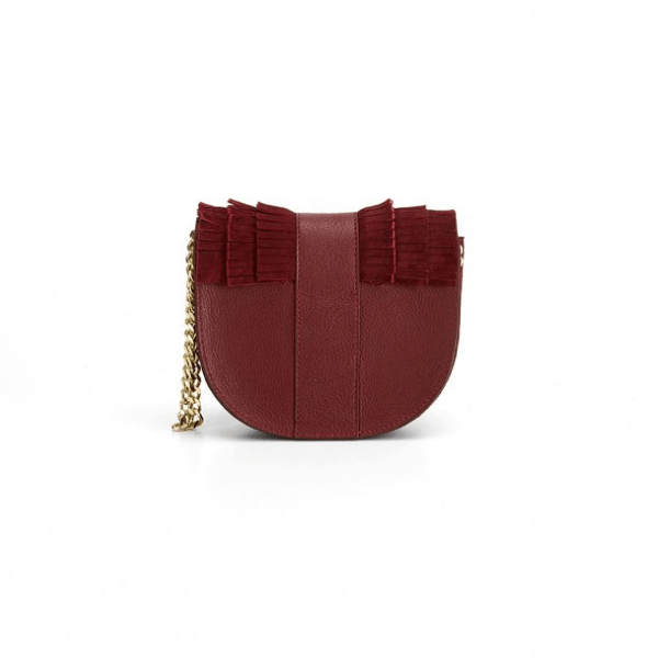 Luna Crossbody Bag | Burgundy
