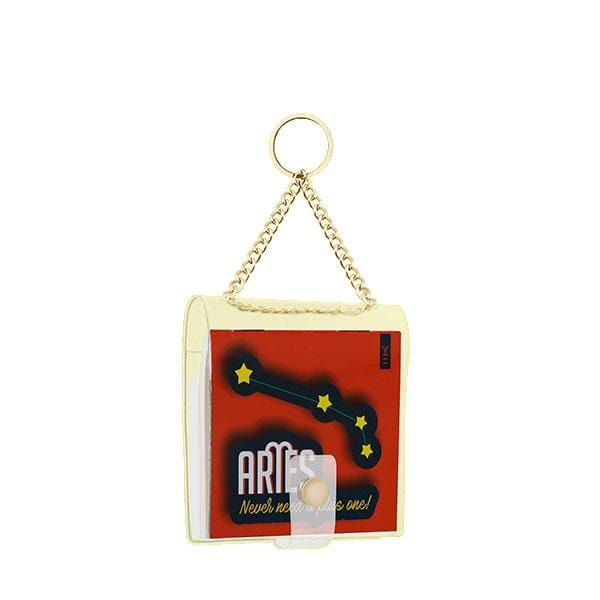 why note!? branded aries key chain at hippist.co.uk