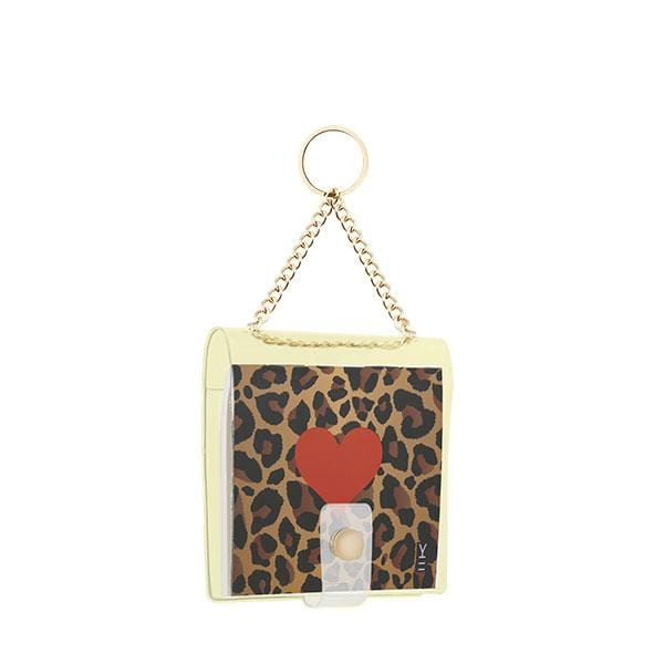 why note!? branded leopard key chain at hippist.co.uk