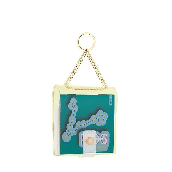 why note!? branded pisces key chain at hippist.co.uk