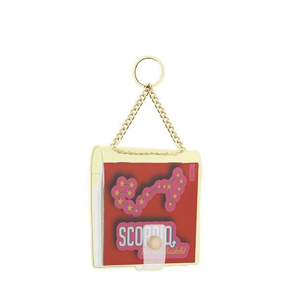 why note!? branded scorpio key chain at hippist.co.uk