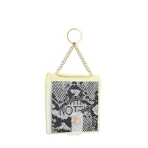 why note!? branded snake key chain at hippist.co.uk