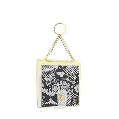 Cotton Mesh Bag | Natural Cream & Black Star