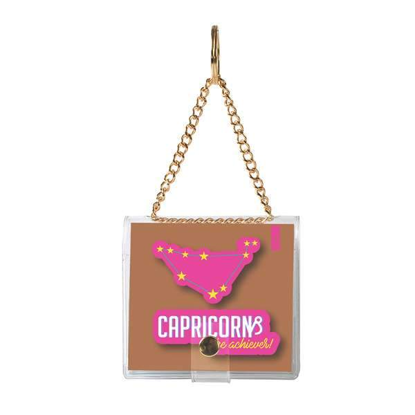 why note!? branded capricorn key chain at hippist.co.uk