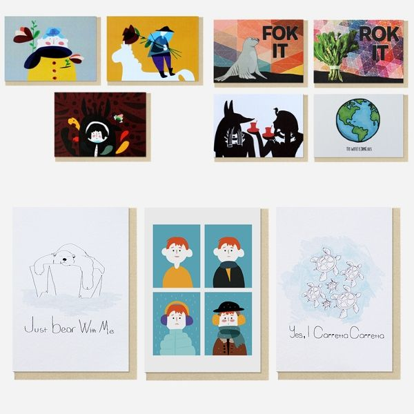 For Mixed Feelings | Set of 10 Postcard Pack