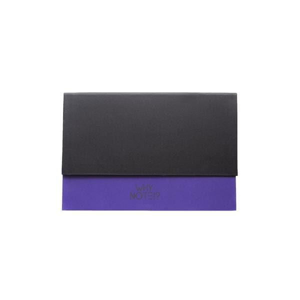 Why Note!? Black & Purple Notebook at hippist.co.uk