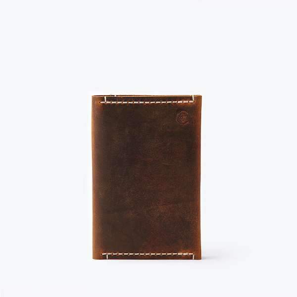 Passport Sleeve Antique Brown