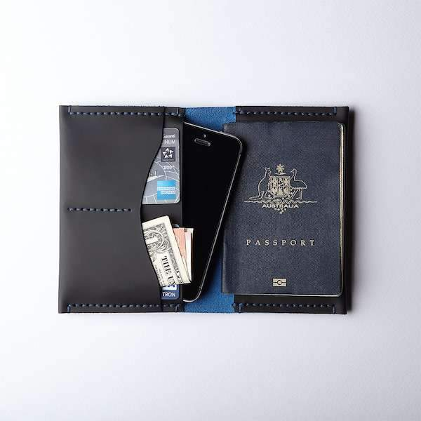 Passport Sleeve Scuba Black