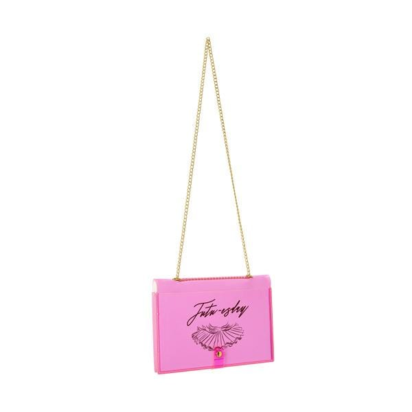 Why Note!? Branded Fun Series Neon Pink notebook bags