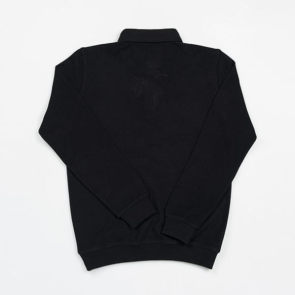 Polo Neck Unisex Sweatshirt | Story Collection | Spinning Wheel
