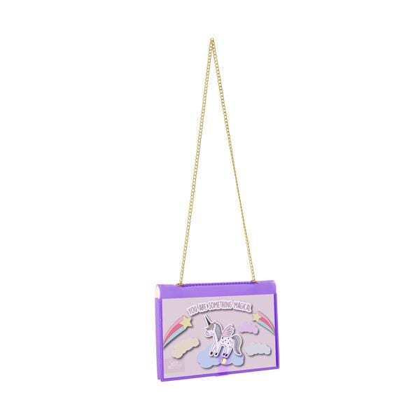 why note!? fun notebag series neon purple bag with unicorn printed card at hippist.co.uk