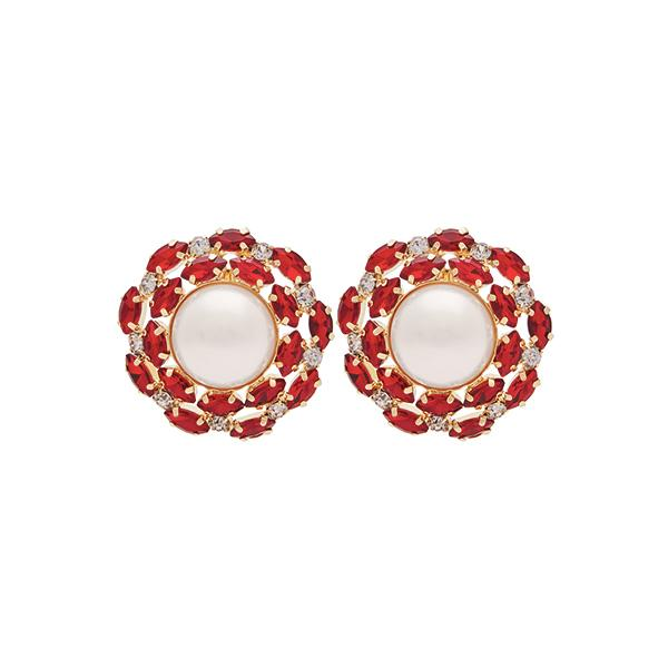 Alexis Crystal Earrings | Ruby Jewellery Ninon