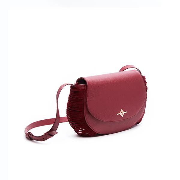 Ruki Crossbody Bag | Burgundy