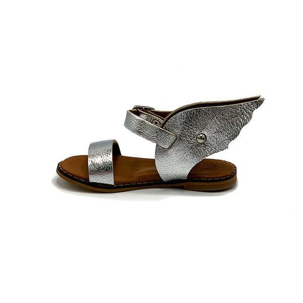Salla Girls Sandals | Silver Wings