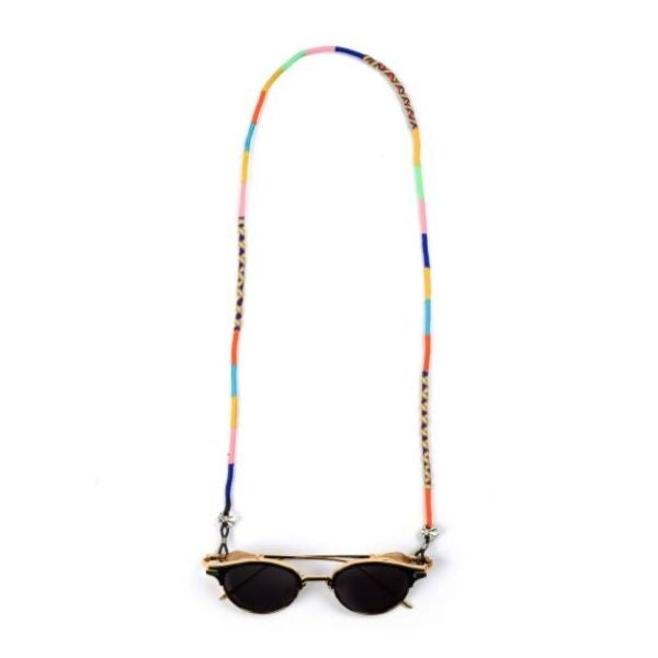 happynes branded colourful trendy handcrafted sunglass chain at hippist