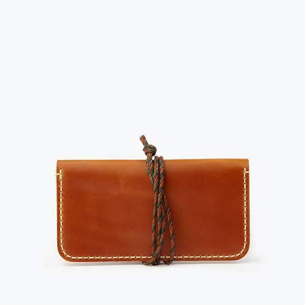 Single Sleeve Tobacco - Wrap Closure | Cognac