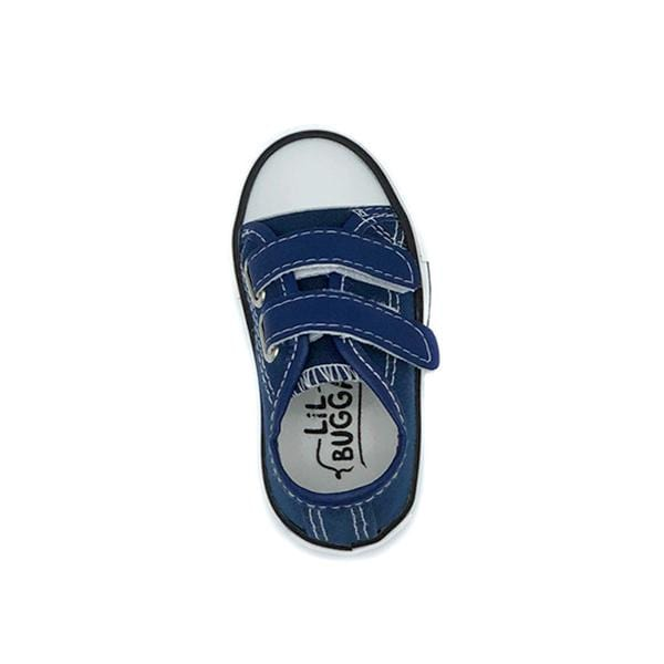 lil bugga branded blue deck shoes at hippist