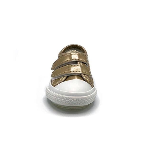 Spiky Deck Shoes | Gold