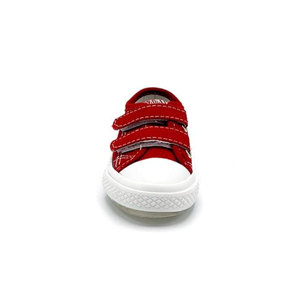 Spiky Deck Shoes | Red