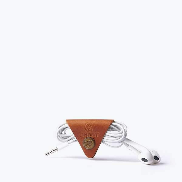 cognac colour cable organizer