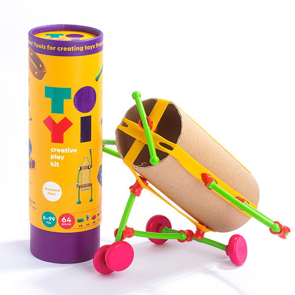 Toyi open-ended play experience toy set for kids 6 ups standart play kit