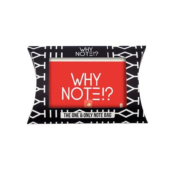 why note!? bag package