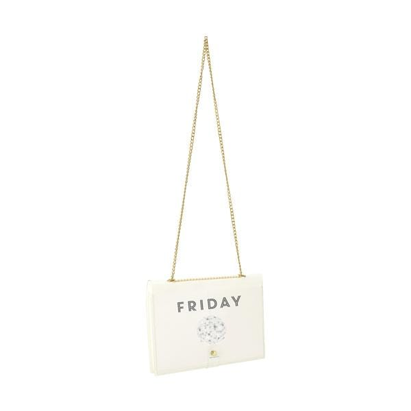 why note!? fun notebag series transparent days bag with friday printed card