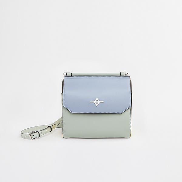Tria Shoulder Bag | Blue & Green