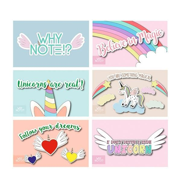 why note!? unicorn cards