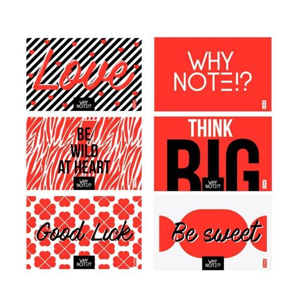 Why Note!? Card Set at hippist.co.uk