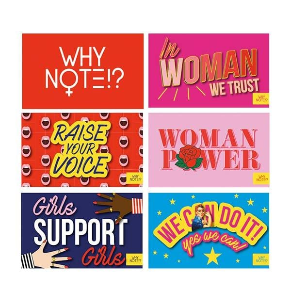 why note!? women power cards
