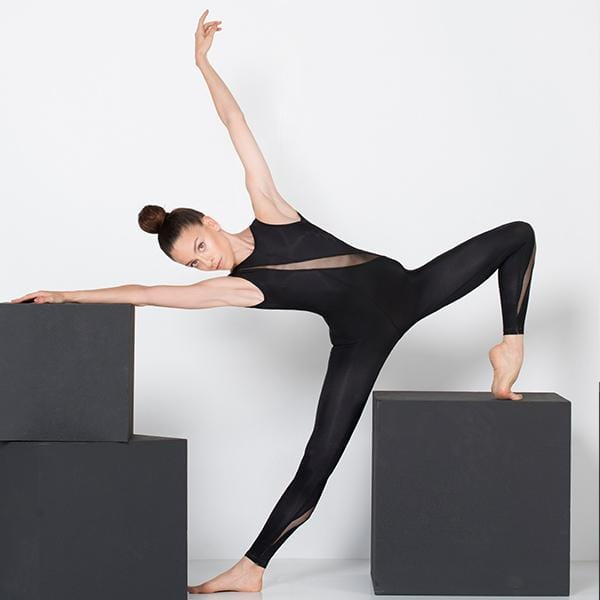 Ryder act branded yoga jumpsuit at hippist