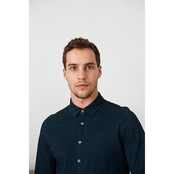 Ziggy Shirt | Petrol Blue