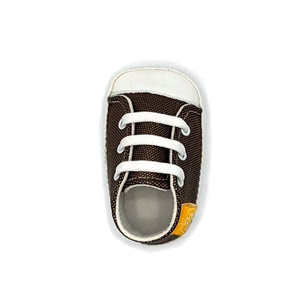 copper colour handmade stylish cool comfortable baby sneakers between 17 and 19 number
