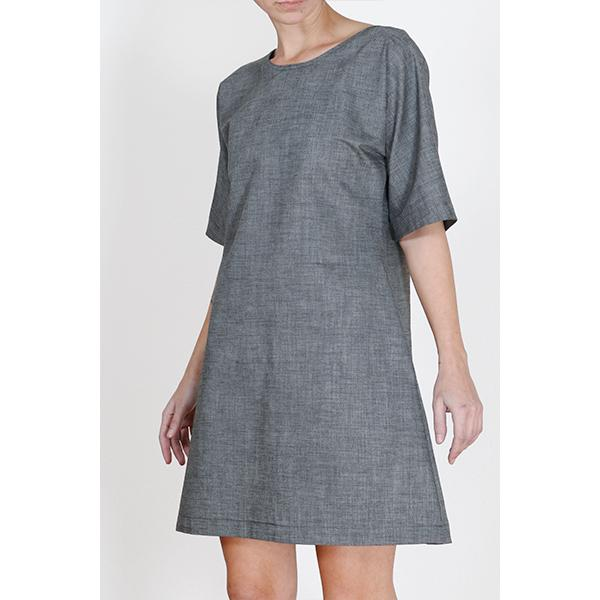 Ada Dress | Grey Clothing one square meter