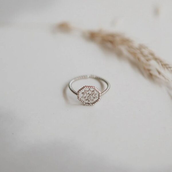 925 sterling silver, handmade ring